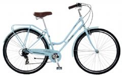 Probike Vintage Ice Blue 7SPD - 700C Ladies Heritage Bike